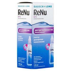 Раствор для контактных линз Renu MPS Универсальный для чувствительных глаз 120 мл