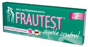 Frautest Double Control Тест для определения беременности 2 шт.