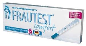 Frautest Comfort Тест для определения беременности 1 шт.
