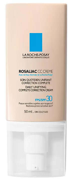 Rosaliac CC Creme уход корректирующий с тональным эффектом SPF30 для кожи склонной к покраснениям 50мл La Roche-Posay (Ля Рош Позе)