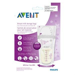 Avent Пакеты для хранения грудного молока 180 мл SCF603/25 арт.80250 25 шт.