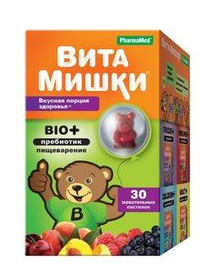Вита мишки био+ паст жеват N 60