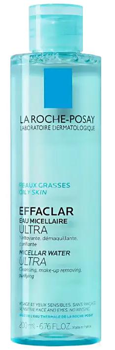 Effaclar Ultra мицеллярная вода 200мл La Roche-Posay (Ля Рош Позе)