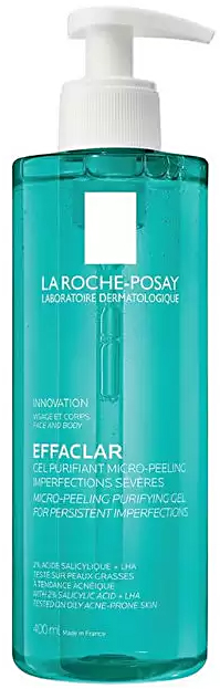 Effaclar гель микроотшелушивающий 400мл La Roche-Posay (Ля Рош Позе)