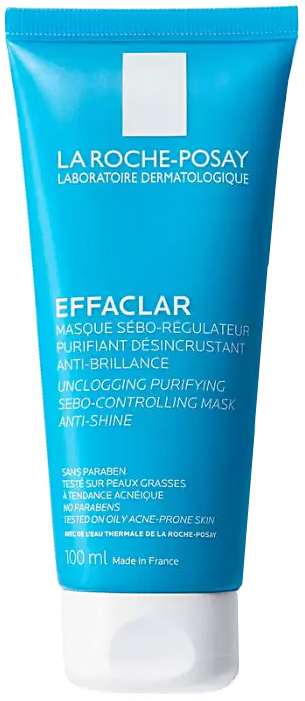 Effaclar маска себорегулирующяя для жирной кожи 100мл La Roche-Posay (Ля Рош Позе)