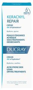 Ducray Keracnyl Repair Крем восстанавливающий стерильный для проблемной кожи D.E.F.I. 50 мл