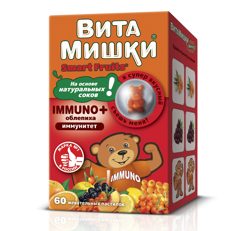 ВитаМишки Immuno+ пастилки жевательные N60