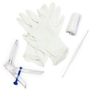 Набор гинек Юнона N 3 (зеркало перчатки пеленка ложка Фолькмана) N 1