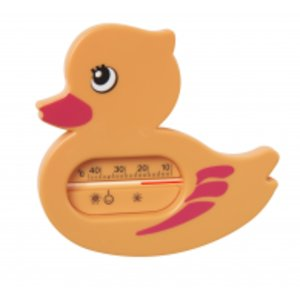 Курносики Термометр для ванной Уточка оранжевый