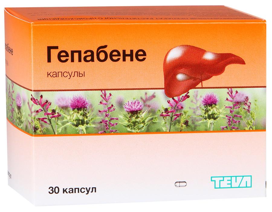 Гепабене капс N30
