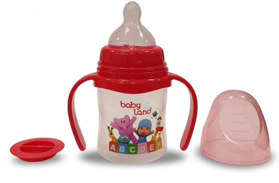 Baby Land бутылочка с ручками 150мл 408