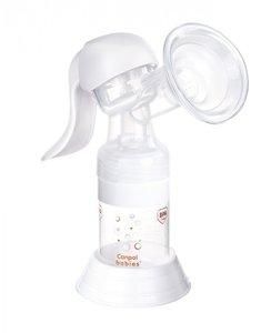Canpol babies молокоотсос ручной с принадлежностями Basic