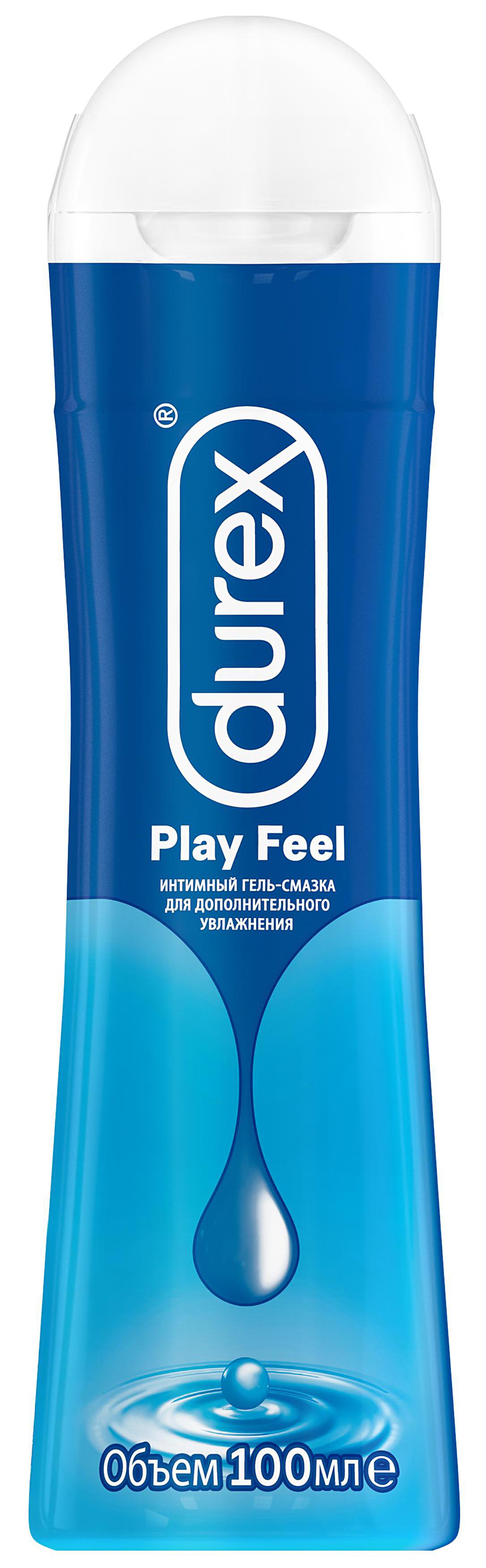 Гель-смазка Durex Play Feel 100мл для дополнительного увлажнения