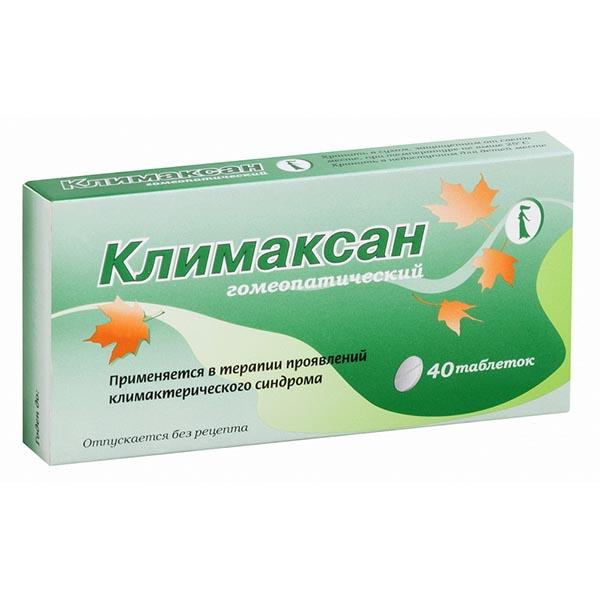 Климаксан таб гомеопатические N40