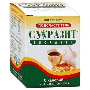 Сахарозаменитель сукразит таблетки 300 шт.
