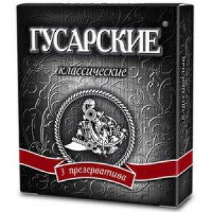 Contex Презервативы Гусарские классические 3 шт.