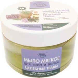 Мыло мягкое Целебные травы для тела и волос 250мл