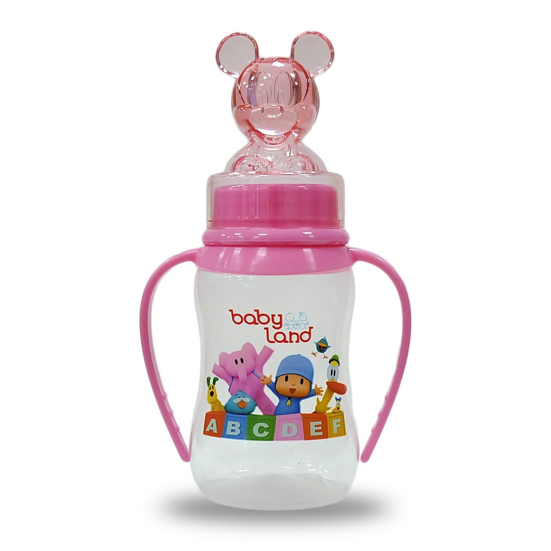 Baby Land бутылочка с ручками 150мл 474
