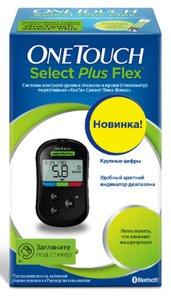 Глюкометр OneTouch Select Plus Flex (УанТач Селект Плюс Флекс)