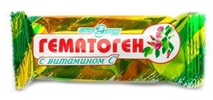 Гематоген Народный с витамином С 40 г