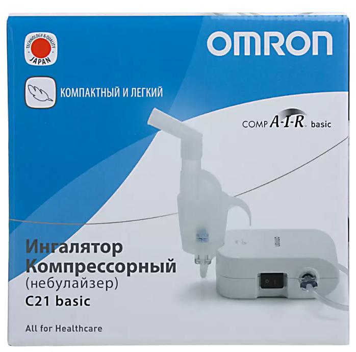 Ингалятор Omron NE-C21 Basic компрессорный (Омрон)