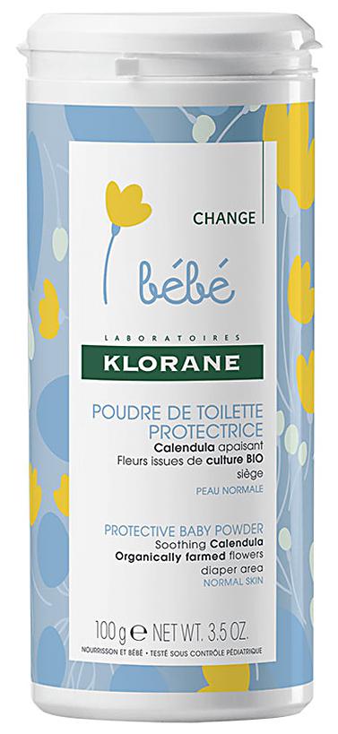 Bebe детская присыпка 100г Klorane (Клоран)