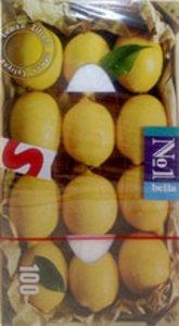 Платочки Белла универс. 2-хслойн. №100 лимон (коробка)