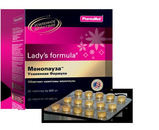 Леди-С формула Менопауза усиленная таб N30