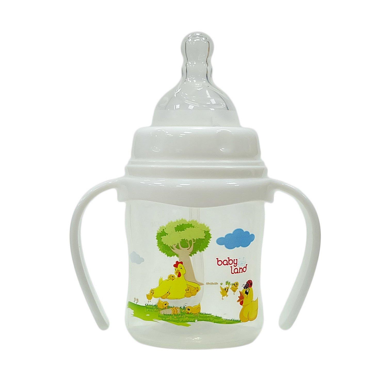 Baby Land бутылочка с ручками 150мл 356