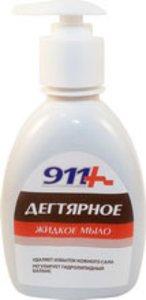 911 Дегтярное мыло антибактериальное 250 мл