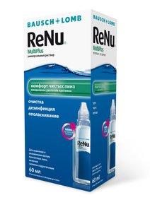 Раствор для контактных линз Renu Универсальный 60 мл