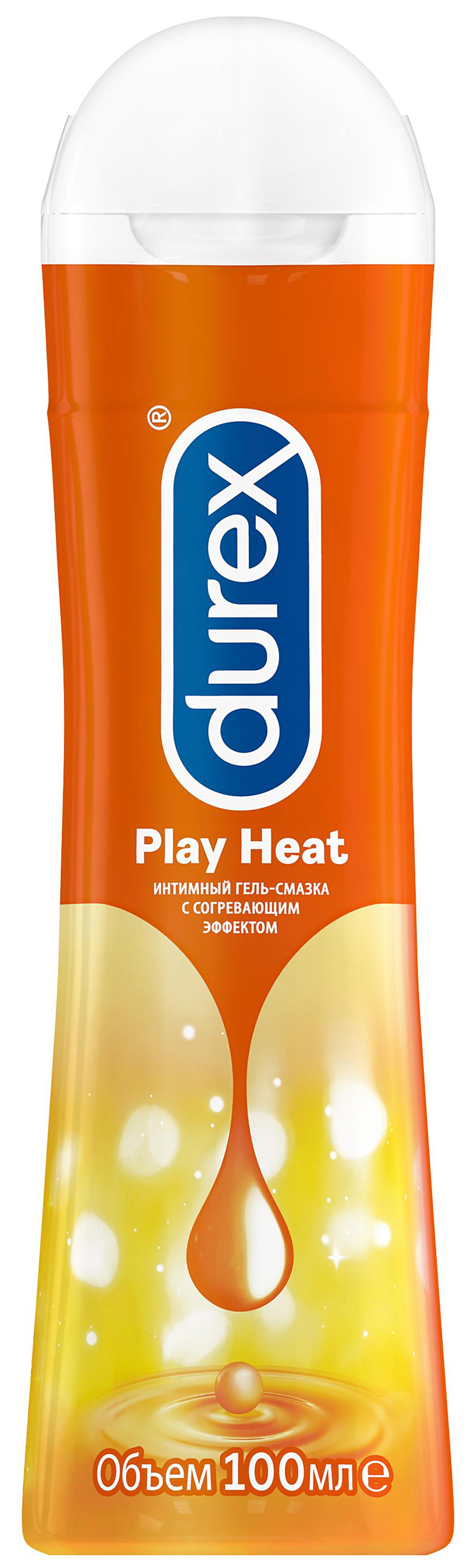 Гель-смазка Durex Play Heat 100мл с согревающим эффектом