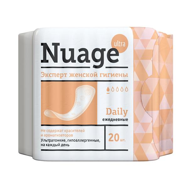 Прокладки Nuage ежедневные N20