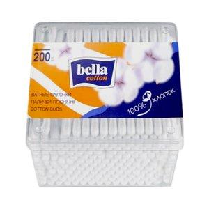 Белла ватные палочки, №200 в пластиковой упаковке