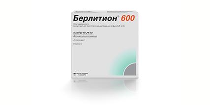 Берлитион 600 конц д/р-ра для инфузий амп 25мг/мл 24мл N5