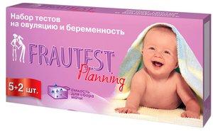 Frautest Planning Тест на овуляцию и беременность 5+2 шт.