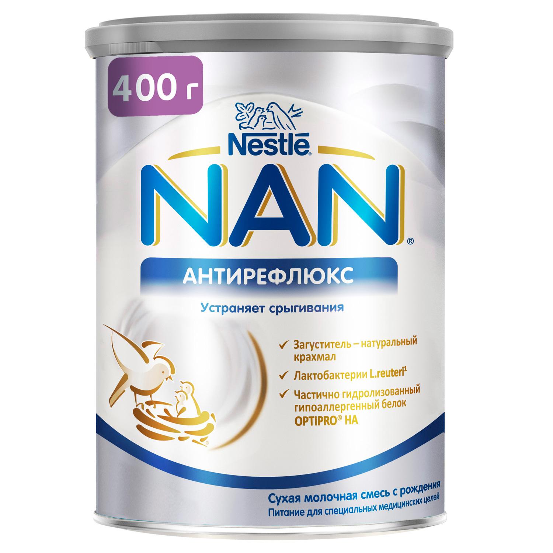 NAN Антирефлюкс смесь от срыгиваний 400г с 0мес для специальных потребностей (НАН)