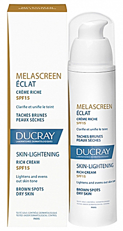 Melascreen крем отбеливающий легкий SPF15 40мл Ducray (Дюкрэ)