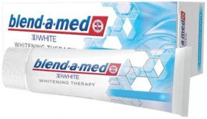 Blend-a-med 3D White Whitening Therapy Зубная паста Защита эмали 75 мл