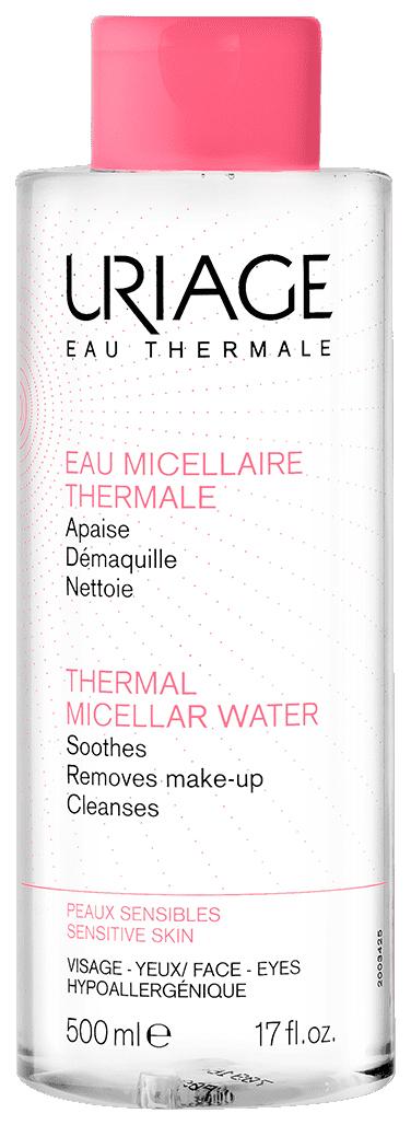 Вода мицеллярная очищающая для чувствительной кожи 500мл (Урьяж)