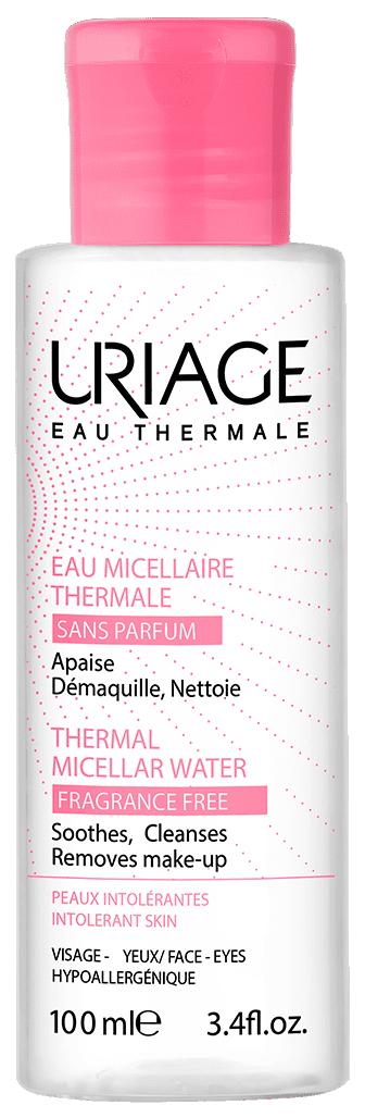 Вода мицеллярная очищающая без ароматизаторов для гиперчувствительной кожи 100мл (Урьяж)