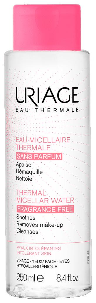 Вода мицеллярная очищающая без ароматизаторов для гиперчувствительной кожи 250мл (Урьяж)