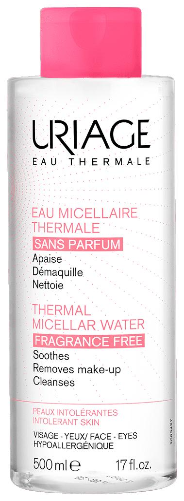 Вода мицеллярная очищающая без ароматизаторов для гиперчувствительной кожи 500мл (Урьяж)