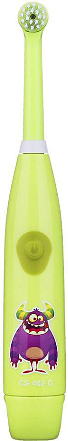 Зубная щетка электрическая CS Medica Kids CS-462-G зеленая