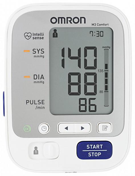 Тонометр Omron М3 Comfort + адаптер 7134 (Омрон)