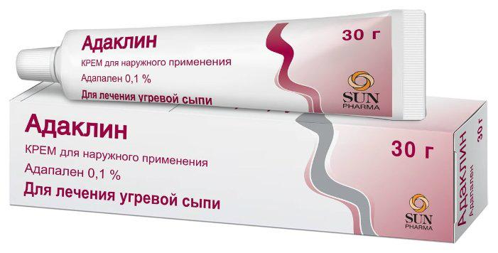 Адаклин крем 0,1% 30г