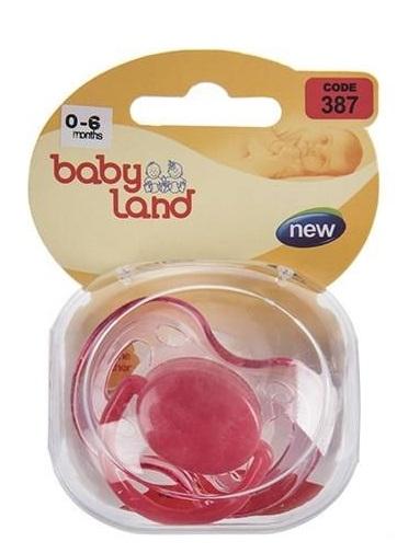 Baby Land пустышка силиконовая ортодонт 0-6мес 387