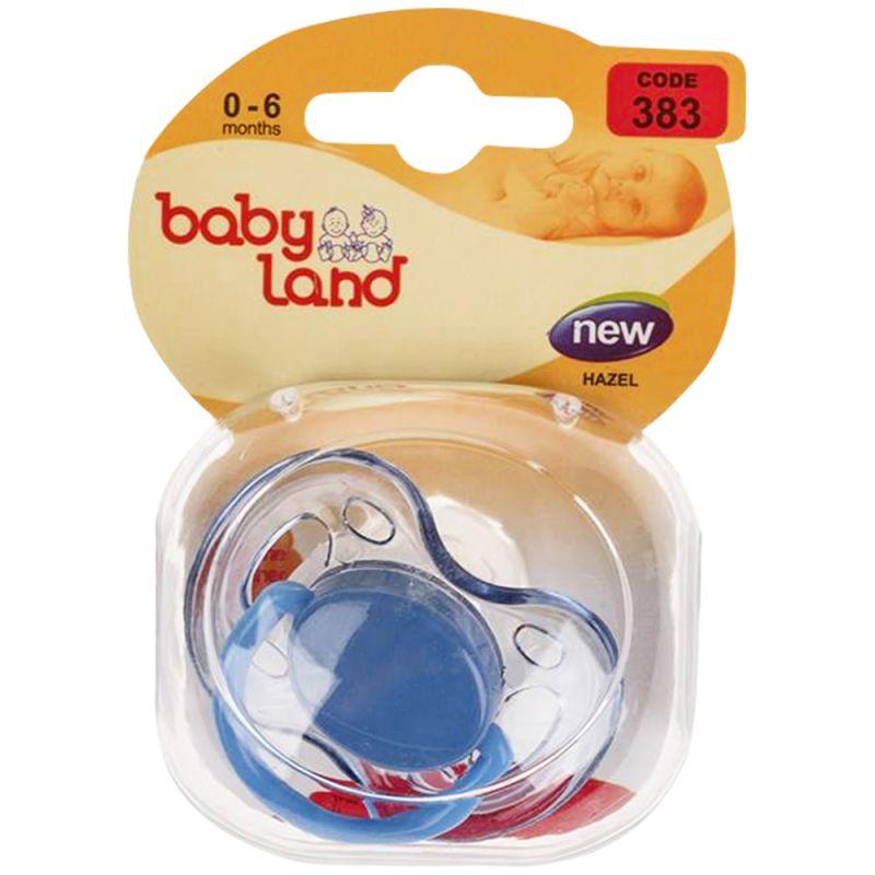 Baby Land пустышка силиконовая классик 0-6мес 383