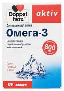 Доппельгерц Актив Омега-3 капсулы N120