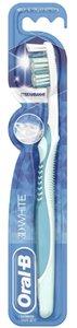 Oral-B Зубная щетка 3D-White Отбеливание средняя, 1 шт.